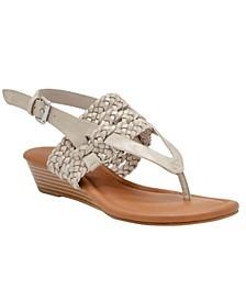 Women's Sheri Woven Thong Sandals