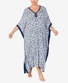 Ellen Tracy Women's Plus Size Long Caftan