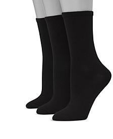 Women's Ultimate ComfortSoft 3pk Crew Socks