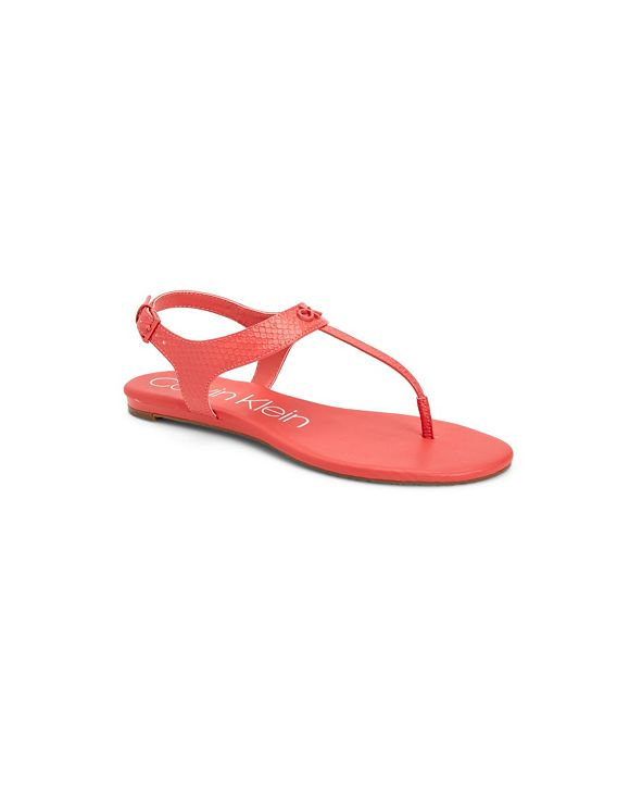 Calvin Klein Women's Shellie Flat Sandal