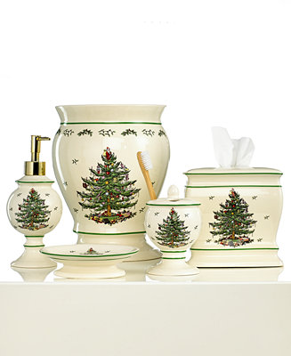Spode Bath Accessories Christmas Tree Collection Bathroom Accessories Bed Bath Macy 39 S