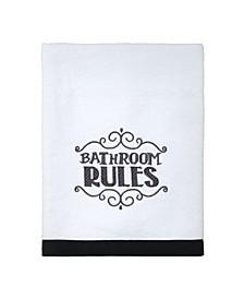 Chalk It Up Bath Towel