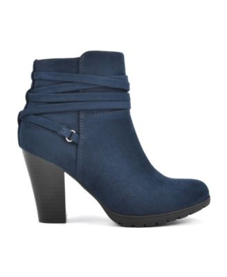 Navy Blue Booties - Macy's