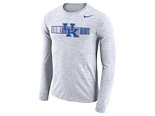 Men's Kentucky Wildcats Dri-Fit Cotton Slub Long Sleeve T-Shirt