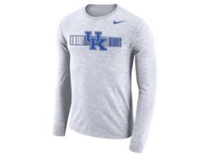 Nike Men's Kentucky Wildcats Dri-Fit Cotton Slub Long Sleeve T-Shirt