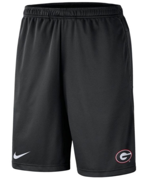 Nike Men's Georgia Bulldogs Dri-fit Coaches Shorts