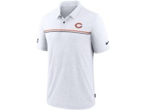 Nike Chicago Bears Men's Dri-Fit Short Sleeve Polo