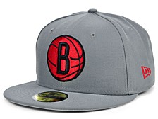 Brooklyn Nets Storm Bred 59FIFTY FITTED Cap