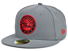 Philadelphia 76ers Storm Bred 59FIFTY FITTED Cap