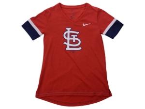 Nike Youth St. Louis Cardinals Mlb Girls V-Neck Hero T-Shirt