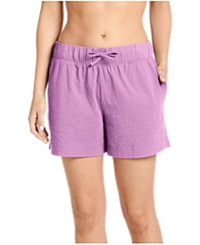 Women's Cotton Boxer Pajama Shorts