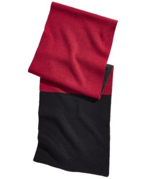 Alfani Men's Colorblocked Blanket Scarf, Created for Macy's