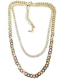 Gold-Tone 2-Pc. Set Chain Link Necklaces
