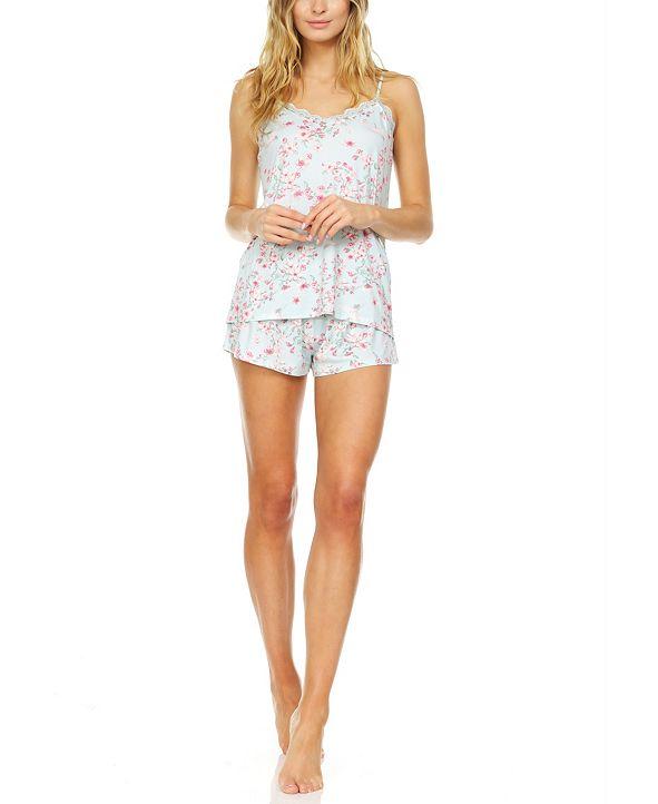 Flora by Flora Nikrooz Mandie Cami & Shorts Pajama Set
