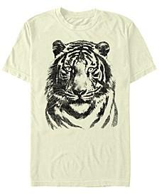 Oversized Tiger Men's Short Sleeve T-Shirt