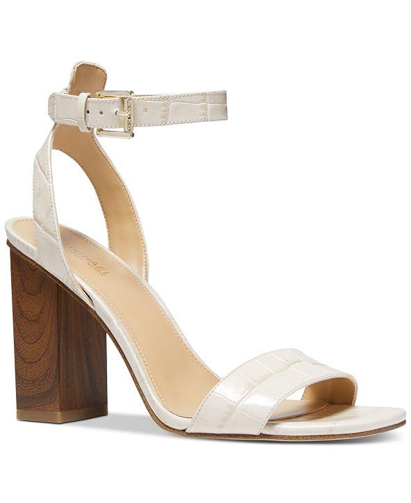 Michael Kors Petra Ankle-Strap Dress Sandals