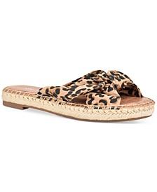 Brock Bow Espadrille Flat Sandals