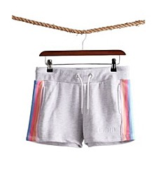 Women's Rainbow Straight Hem Shorts