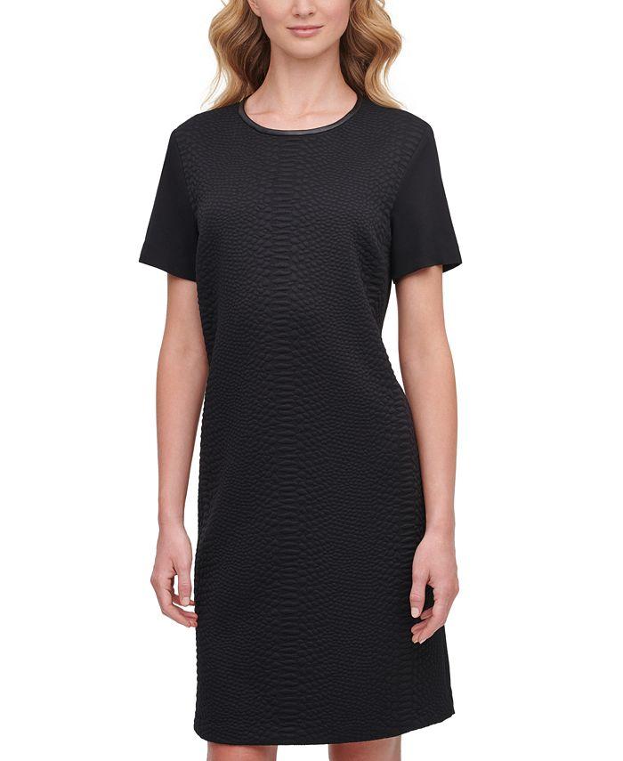 DKNY - Textured Mini Dress