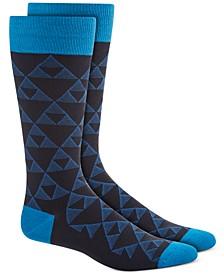 Men's Linear Triangle Socks, Created for Macy's