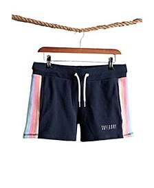 Women's Rainbow Straight Hem Shorts