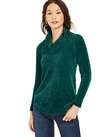 Chenille Cowlneck Tunic, Created for Macy's