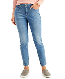Style & Co Curvy-Fit Tummy-Control Skinny Jeans, Created for Macy's