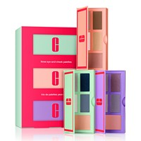 Deals on Clinique 3-Pc. Build Your Color Eye & Cheek Palette Gift Set