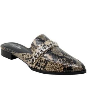 Women's Emblem Mules Women's Shoes
