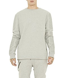 Men's Crew Neck Fleece Sweater