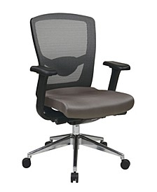 Grey ProGrid High Back Office Chair