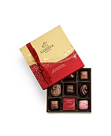 Holiday Chocolate Gift Box, 9 Piece Set