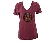 Atlanta United FC Women's Distressed Logo T-Shirt