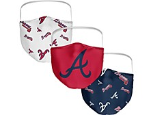 Atlanta Braves 3-Pk. Face Mask