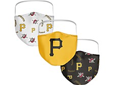 Pittsburgh Pirates 3-Pk. Face Mask