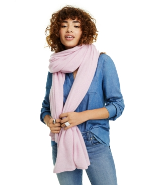 Charter Club Scarves OVERSIZED CASHMERE SCARF, CREATED FOR MACY'S