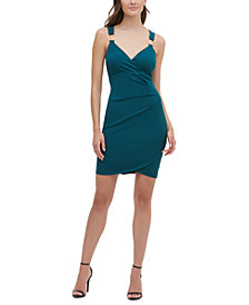 GUESS Ring-Detail Bodycon Dress