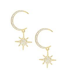 18K Gold Celestial Spotlight Women's Earrings