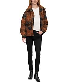 Plaid Shirt-Jacket Coat