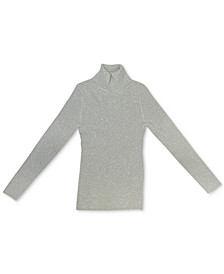 Metallic Turtleneck Sweater, Created for Macy's