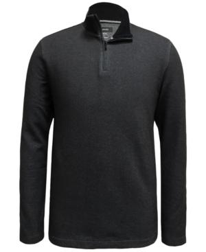 Alfani Men's Mock-Neck Quarter-Zip Sweater, Created for Macy's