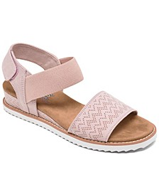 Women's BOBS Desert Kiss Strappy Sandals from Finish Line