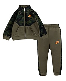 Baby Boys Light Grey Camo Set