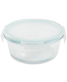 22-oz. Glass Food Storage Container with Lid