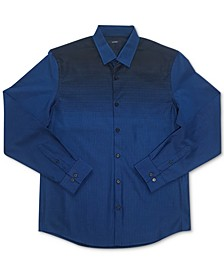 Men's Croydon Woven Shirt, Created for Macy's