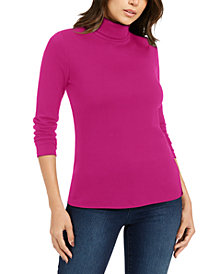Charter Club Pima Turtleneck Top, Created for Macy's