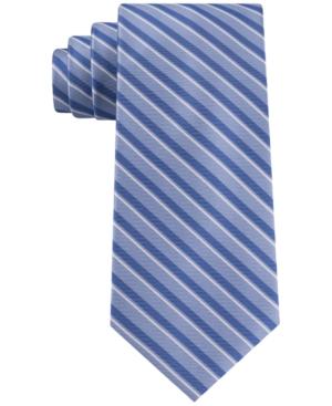 Tommy Hilfiger Men's Slim Deck Stripe Tie