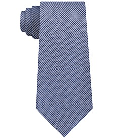 Men's Slim Peppered Stripe Tie