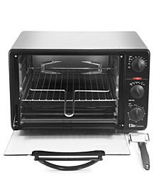 0.8Cu. Ft. Toaster Oven Broiler with Rotisserie