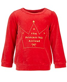 Baby Girls Princess Long-Sleeve Top, Created for Macy's